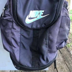 Nike back pack with lock